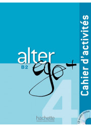 Зошит Alter Ego+ 4 Cahier d'activités avec CD audio