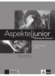 Книга вчителя Aspekte junior B1 plus Lehrerhandbuch