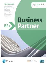 Підручник Business Partner B2+ Coursebook with MEL