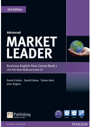 Підручник і робочий зошит Market Leader 3rd Edition Advanced PART 1 Coursebook + Practice File + DVD-ROM + Audio CD