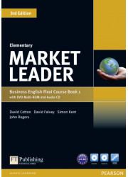 Підручник і робочий зошит Market Leader 3rd Edition Elementary PART 1 Coursebook + Practice File + DVD-ROM + Audio CD