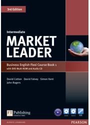Підручник і робочий зошит Market Leader 3rd Edition Intermediate PART 1 Coursebook + Practice File + DVD-ROM + Audio CD