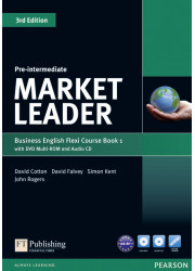 Підручник і робочий зошит Market Leader 3rd Edition Pre-Intermediate PART 1 Coursebook + Practice File + DVD-ROM + Audio CD