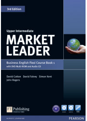 Підручник і робочий зошит Market Leader 3rd Edition Upper-Intermediate PART 1 Coursebook + Practice File + DVD-ROM + Audio CD