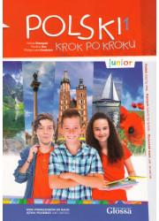 Підручник Polski krok po kroku Junior 1 Podrecznik + Mp3 CD