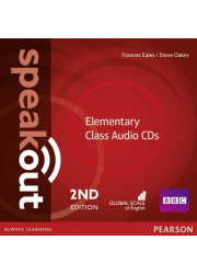 Аудіо диск Speakout 2nd Edition Elementary Class CD