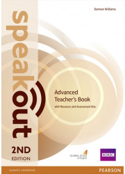 Книга вчителя Speakout 2nd Edition Advanced Teacher's Guide with Resource & Assessment Disc