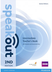 Книга вчителя Speakout 2nd Edition Intermediate Teacher's Guide with Resource & Assessment Disc