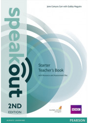 Книга вчителя Speakout 2nd Edition Starter Teacher's Guide with Resource & Assessment Disc