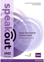 Книга вчителя Speakout 2nd Edition Upper-Intermediate Teacher's Guide with Resource & Assessment Disc