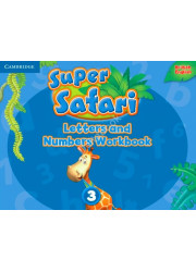 Книга Super Safari 3 Letters and Numbers Workbook