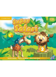 Підручник Super Safari 2 Pupil's Book with DVD-ROM