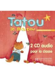 Аудіо диск Tatou le matou 2 CD audio classe