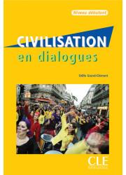 Книга Civilisation en Dialogues Débutant avec CD audio