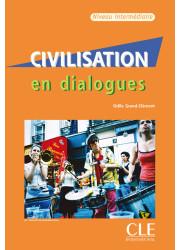 Книга Civilisation en Dialogues Intermédiaire avec CD audio