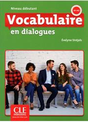 Книга Vocabulaire en Dialogues 2e Édition Débutant Livre avec Corrigés et CD audio