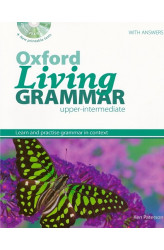 Книга Oxford Living Grammar Upper-Intermediate with answers and CD-ROM