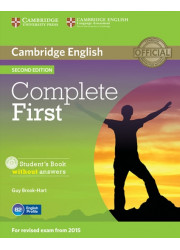 Підручник Complete First Second Edition Student's Book without answers with CD-ROM