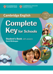 Підручник Complete Key for Schools Student's Book with answers and CD-ROM