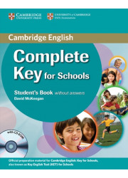 Набор книг Complete Key for Schools Student's Pack (SB without answers with CD-ROM, WB without answers with Audio CD)
