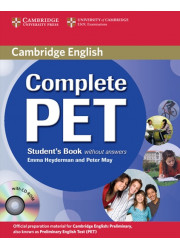 Підручник Complete PET Student's Book without answers with CD-ROM