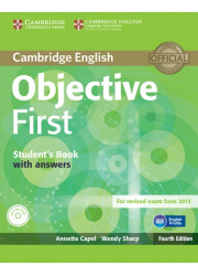 Підручник Objective First Fourth Edition Student's Book with answers and CD-ROM