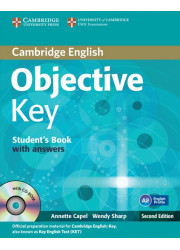 Підручник Objective Key Second Edition Student's Book with answers and CD-ROM