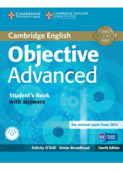 Підручник Objective Advanced Fourth Edition Student's Book with answers and CD-ROM