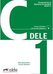 Підручник Preparación al DELE C1 Libro + CD Audio