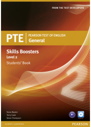 Підручник PTE General Skills Booster 2 Student's Book with Audio CD