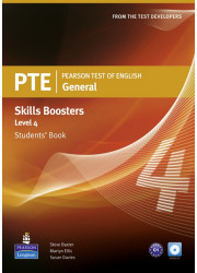 Підручник PTE General Skills Booster 4 Student's Book with Audio CD