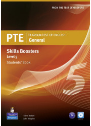 Підручник PTE General Skills Booster 5 Student's Book with Audio CD