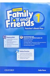 Книга вчителя Family and Friends 2nd Edition 1 Teacher's Book