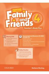 Книга вчителя Family and Friends 2nd Edition 4 Teacher's Book