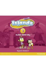 Аудіо диск Islands 3 Class Audio CDs