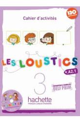 Зошит Les Loustics 3 Cahier d'activités avec CD audio