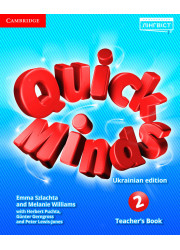Книга вчителя Quick Minds 2 Teacher's Book Ukrainian edition