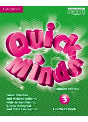 Книга вчителя Quick Minds 3 Teacher's Book Ukrainian edition