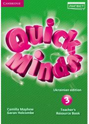 Ресурси для вчителя Quick Minds 3 Teacher's Resource Book Ukrainian edition