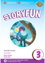 Книга вчителя Storyfun for Movers Level 3 Teacher's Book with Online Audio