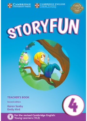 Книга вчителя Storyfun for Movers Level 4 Teacher's Book with Online Audio