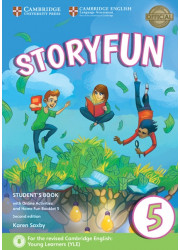 Підручник Storyfun for Flyers Level 5 Student's Book with Online Activities and Home Fun Booklet