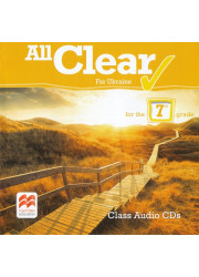 Аудіо диск All Clear for Ukraine 7 клас Class Audio CD
