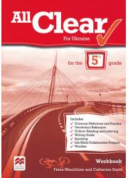 Зошит All Clear for Ukraine 5 клас Workbook