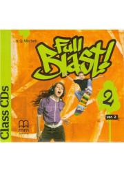 Аудіо диск Full Blast 2 Class Audio CDs