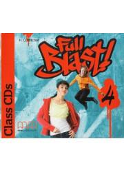 Аудіо диск Full Blast 4 Class Audio CDs