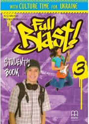 Підручник Full Blast 3 Student's Book with Culture Time for Ukraine