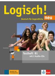 Тести Logisch! neu В1 Testheft mit Audio-CD