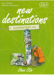 Аудіо диск New Destinations Elementary A1.2 Class CDs