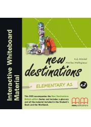 Диск до IWB New Destinations Elementary A1.2 IWB Material